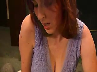 Charming amateur wife jerks and sucks big...
