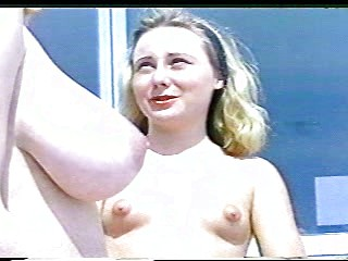 Group of nude women in softcore retro video