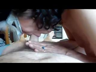 Guy shoots POV video about his wife sucks dick